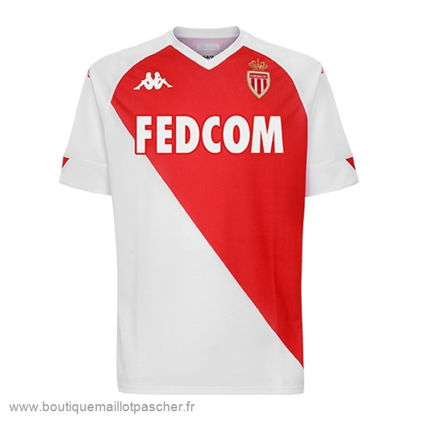 Promo Domicile Maillot AS Monaco 2020 2021 Rouge Blanc
