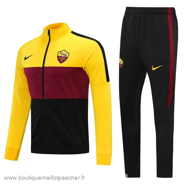 Promo Survêtements AS Roma 2020 2021 Jaune Rouge