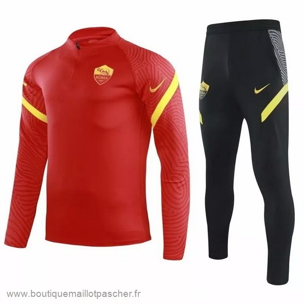 Promo Survêtements AS Roma 2020 2021 Rouge Noir
