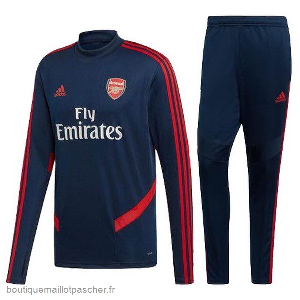 Promo Survêtements Arsenal 2019 2020 Rouge Bleu