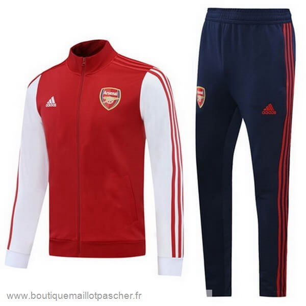 Promo Survêtements Arsenal 2020 2021 Rouge Blanc