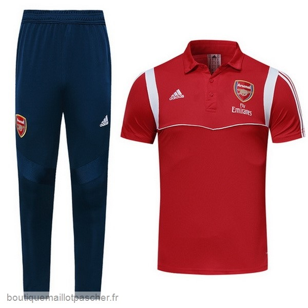 Promo Ensemble Complet Polo Arsenal 2019 2020 Rouge