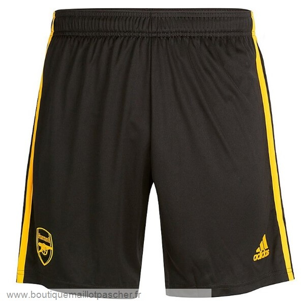 Promo Third Pantalon Arsenal 2019 2020 Noir Jaune