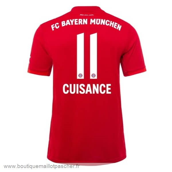 Promo NO.11 Cuisance Domicile Maillot Bayern Munich 2019 2020 Rouge