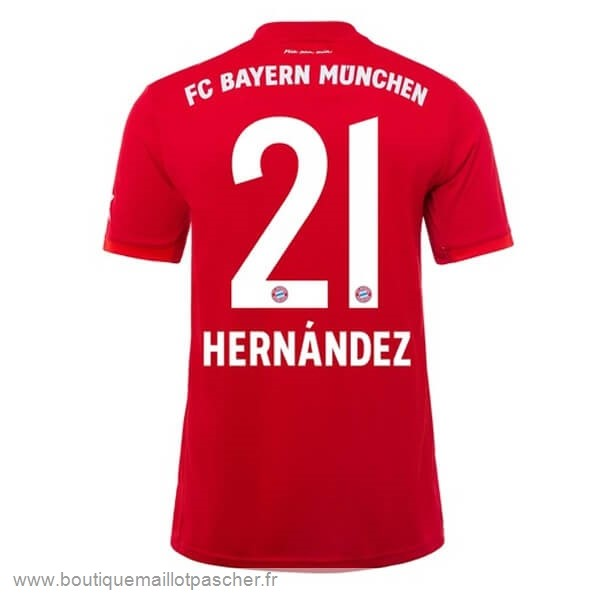 Promo NO.21 Hernández Domicile Maillot Bayern Munich 2019 2020 Rouge