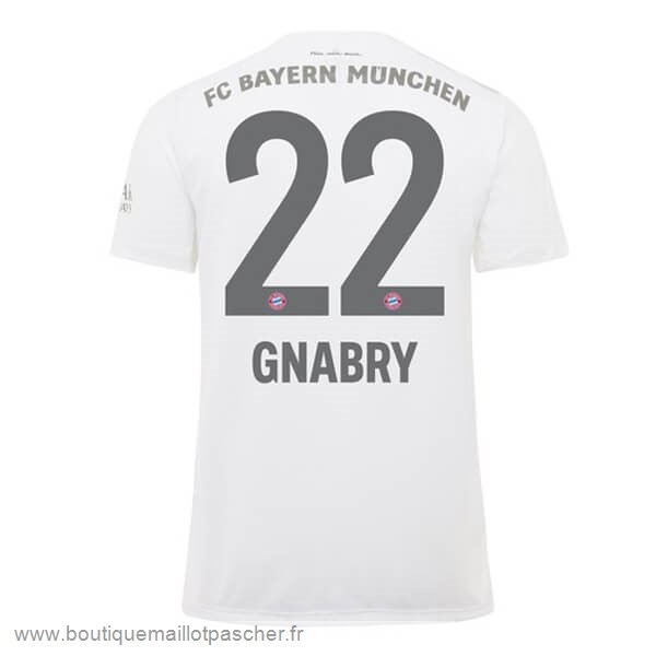 Promo NO.22 Gnabry Exterieur Maillot Bayern Munich 2019 2020 Rouge