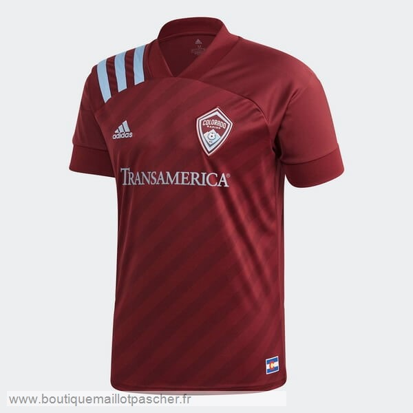 Promo Domicile Maillot Colorado Rapids 2020 2021 Rouge