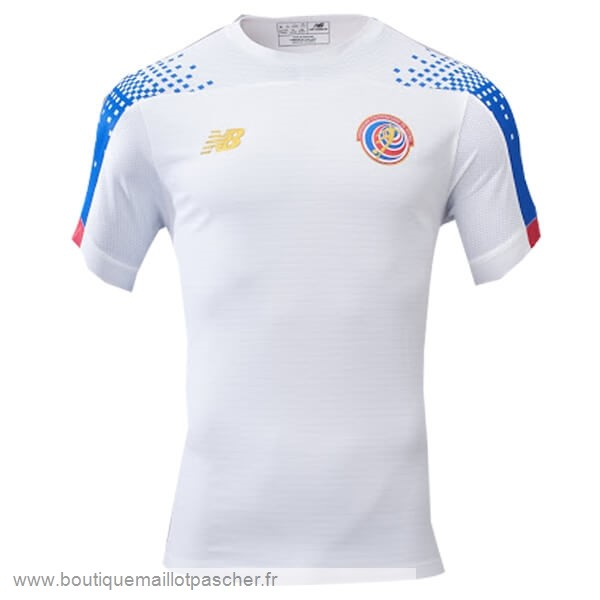 Promo Exterieur Maillot Costa Rica 2019 Blanc