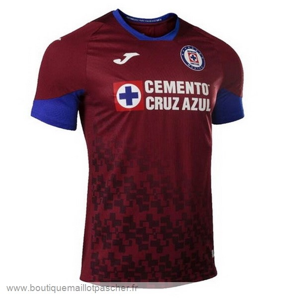 Promo Third Maillot Cruz Bleu 2020 2021 Rouge
