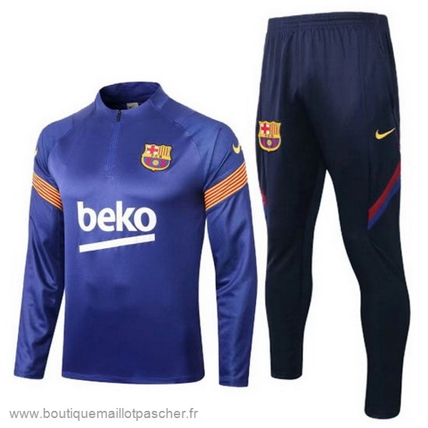 Promo Survêtements Barcelona 2020 2021 Bleu Orange