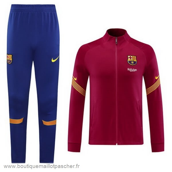 Promo Survêtements Barcelone 2020 2021 Purpura Rouge