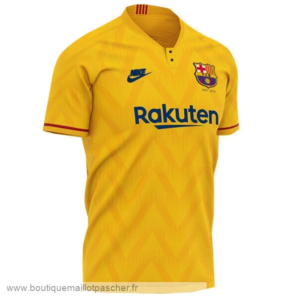 Promo Exterieur Maillot Barcelone 120th Jaune