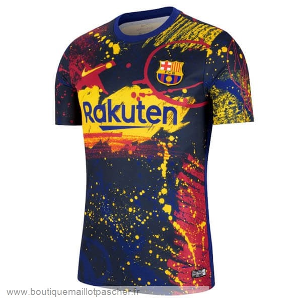 Promo Pre Match Maillot Barcelone 2020 Rouge Bleu