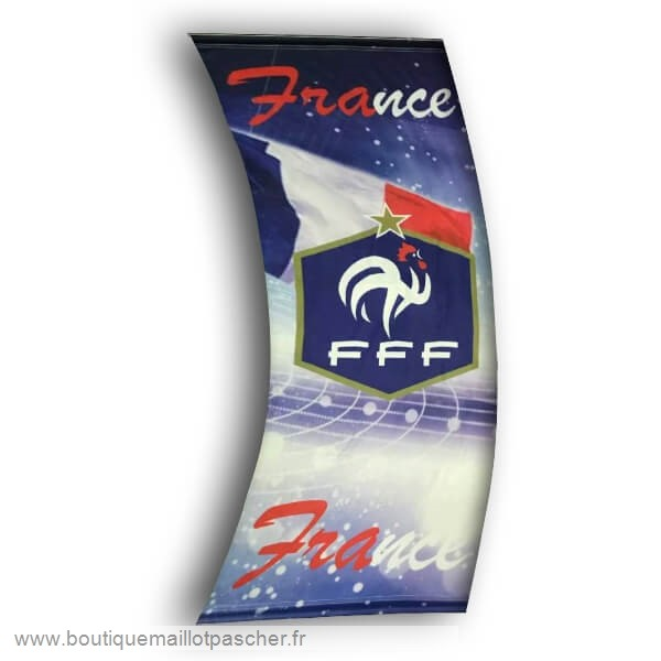 Promo Football Drapeau de France Bleu