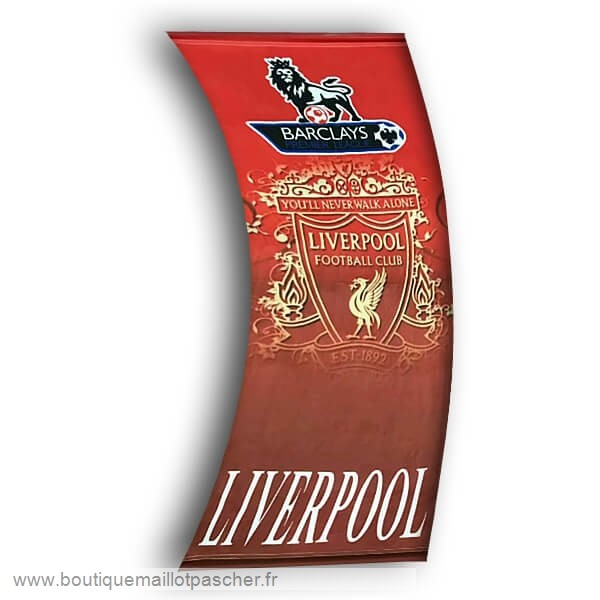 Promo Football Drapeau de Liverpool Rouge