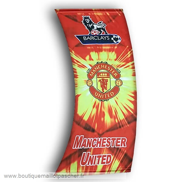 Promo Football Drapeau de Manchester United Rouge