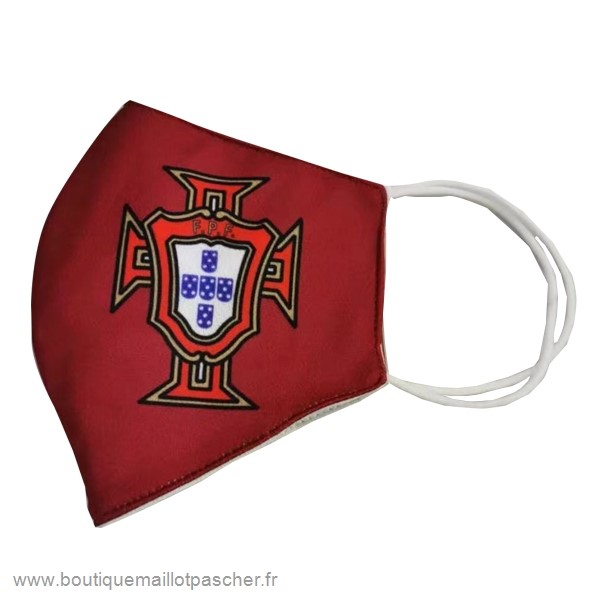 Promo Masque Football Portugal serviette Rouge