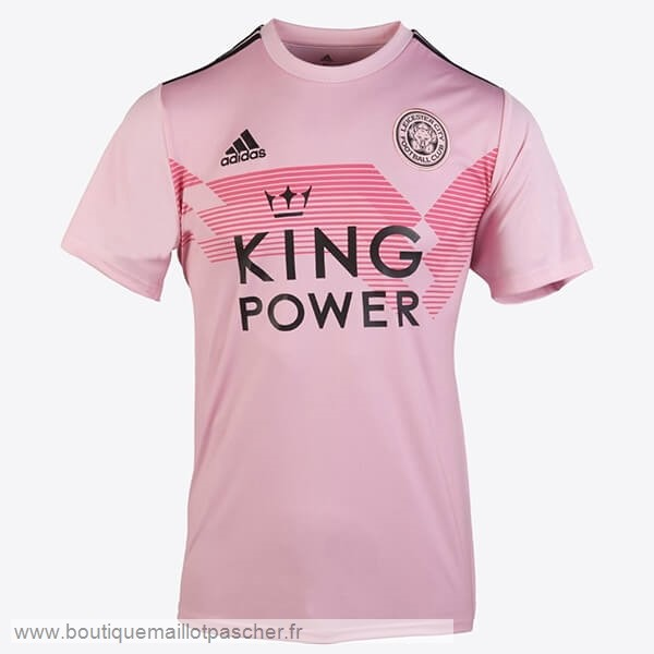 Promo Exterieur Maillot Femme Leicester City 2019 2020 Rose