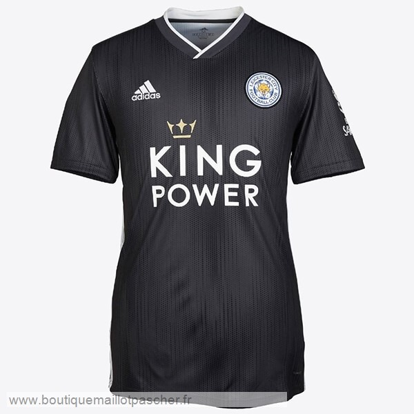 Promo Third Maillot Femme Leicester City 2019 2020 Noir
