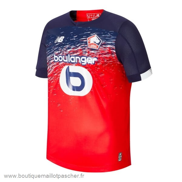 Promo Domicile Maillot Lille 2019 2020 Rouge