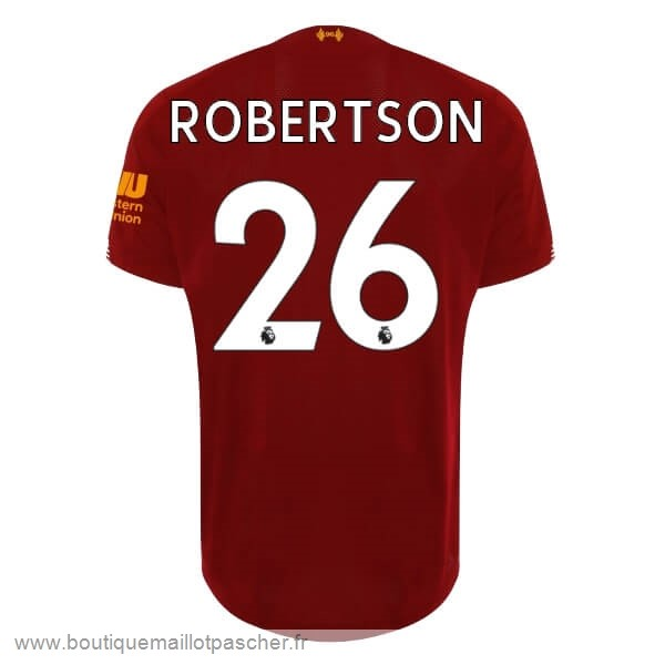 Promo NO.26 Robertson Domicile Maillot Liverpool 2019 2020 Rouge