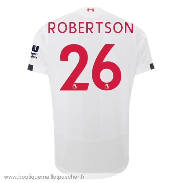 Promo NO.26 Robertson Exterieur Maillot Liverpool 2019 2020 Blanc