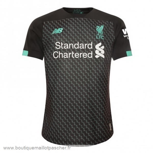 Promo Third Maillot Liverpool 2019 2020 Noir