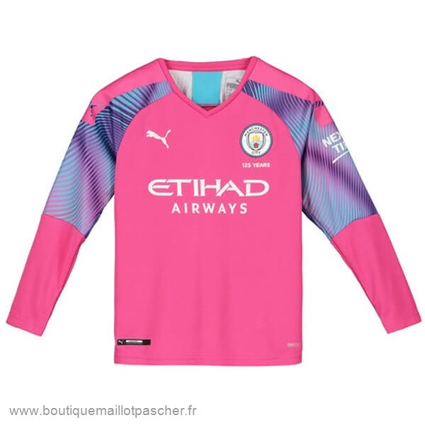 Promo Manches Longues Gardien Manchester City 2019 2020 Rose