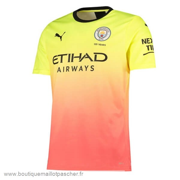 Promo Third Maillot Manchester City 2019 2020 Orange