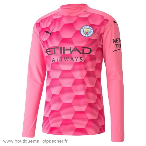 Promo Third Manches Longues Gardien Manchester City 2020 2021 Rose