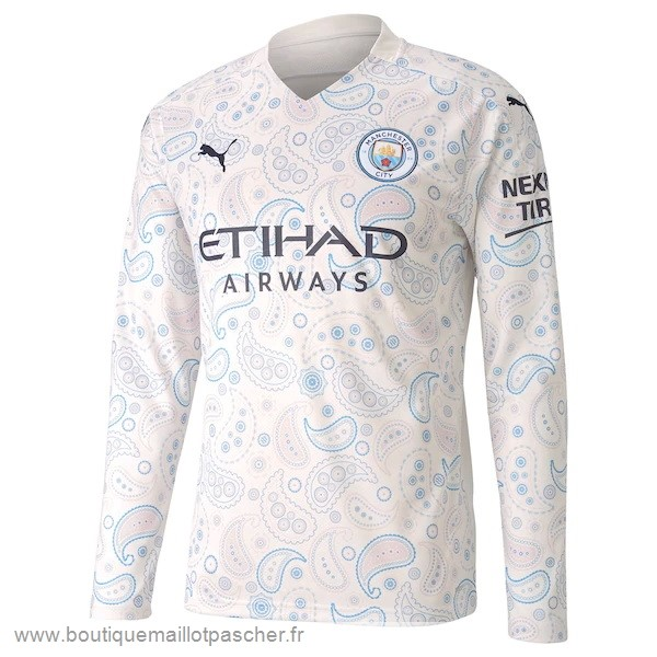 Promo Third Manches Longues Manchester City 2020 2021 Blanc