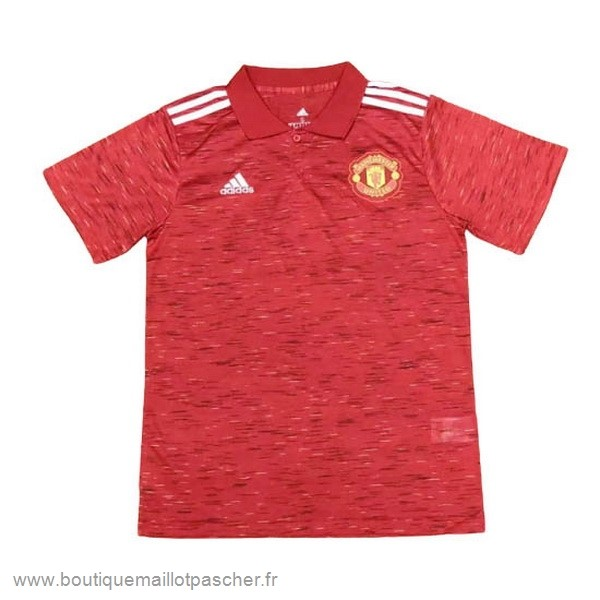 Promo Polo Manchester United 2020 2021 Rouge