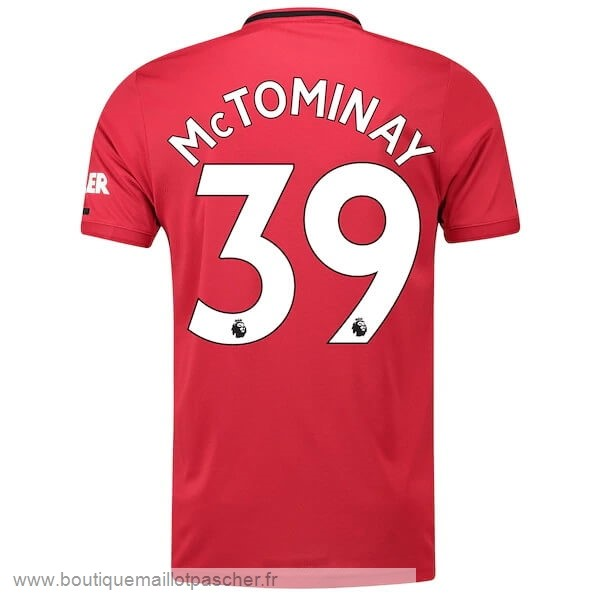 Promo NO.39 McTominay Domicile Maillot Manchester United 2019 2020 Rouge