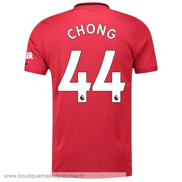Promo NO.44 Chong Domicile Maillot Manchester United 2019 2020 Rouge