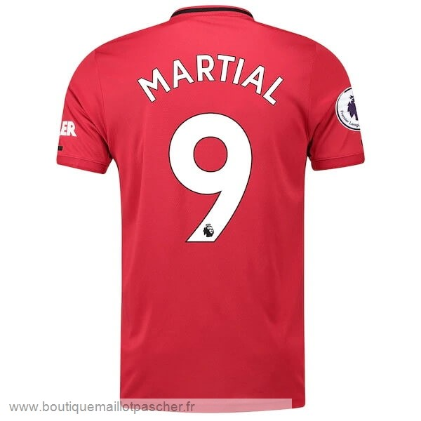 Promo NO.9 Martial Domicile Maillot Manchester United 2019 2020 Rouge