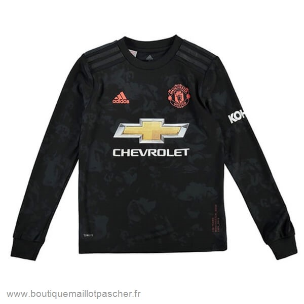 Promo Third Manches Longues Manchester United 2019 2020 Noir