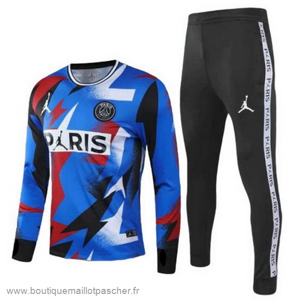 Promo Survêtements Paris Saint Germain 2020 2021 Bleu Noir