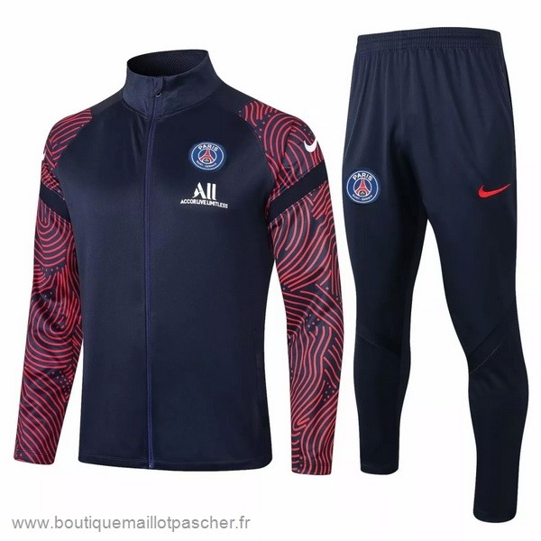 Promo Survêtements Paris Saint Germain 2020 2021 Noir Rouge