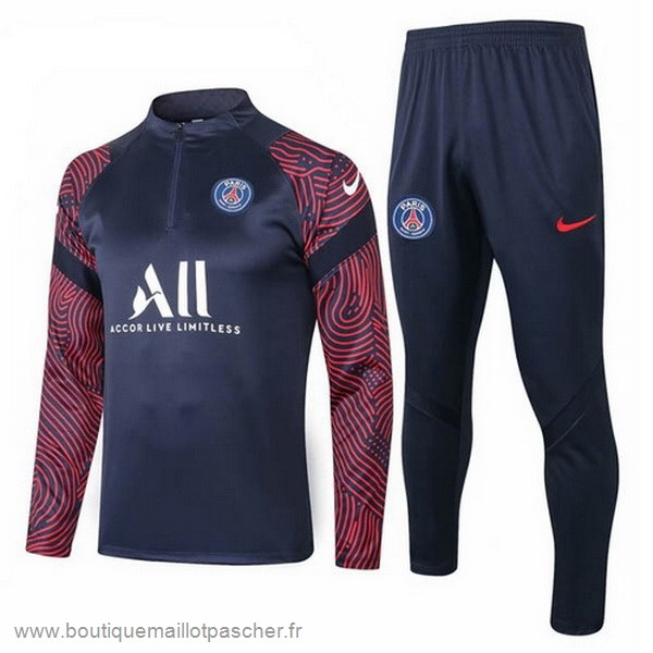 Promo Survêtements Paris Saint Germain 2020 2021 Noir Rouge Blanc