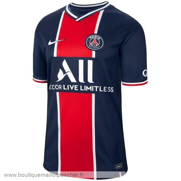 Promo Domicile Maillot Paris Saint Germain 2020 2021 Bleu