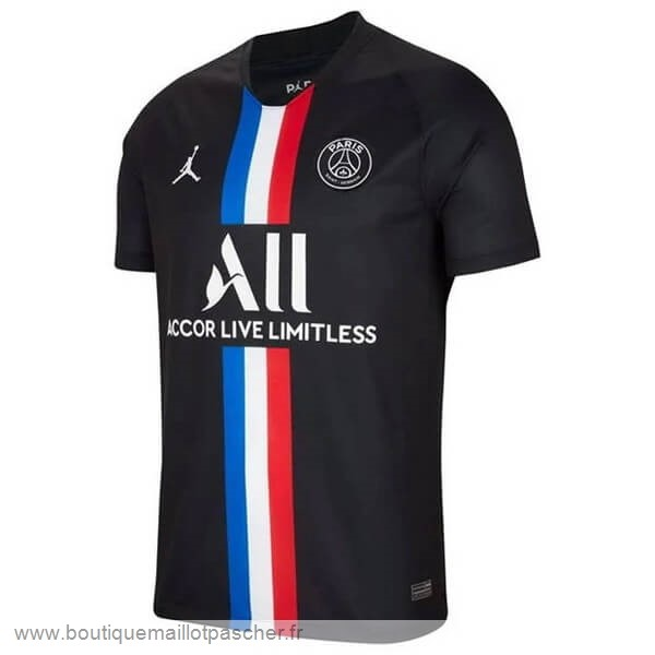 Promo Thailande Third Maillot Paris Saint Germain 2019 2020 Noir