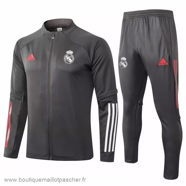 Promo Survêtements Real Madrid 2020 2021 Gris Marine