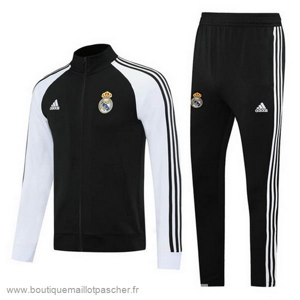 Promo Survêtements Real Madrid 2020 2021 Noir Blanc