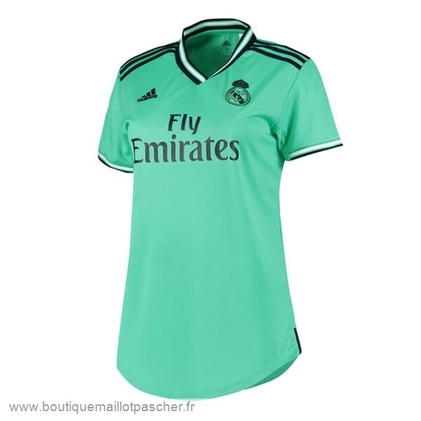 Promo Third Maillot Femme Real Madrid 2019 2020 Vert