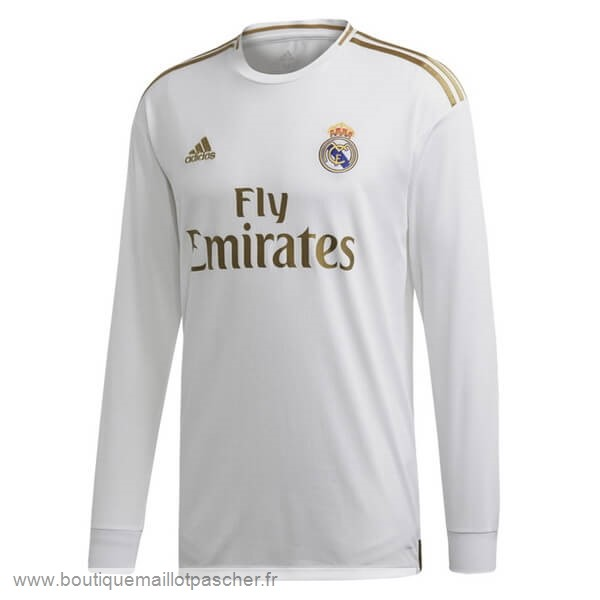 Promo Domicile Manches Longues Real Madrid 2019 2020 Blanc