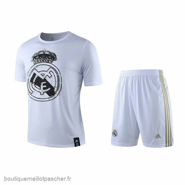 Promo Entrainement Ensemble Complet Real Madrid 2019 2020 Blanc