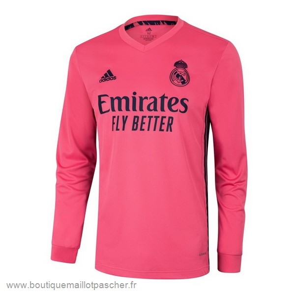 Promo Exterieur Manches Longues Real Madrid 2020 2021 Rose