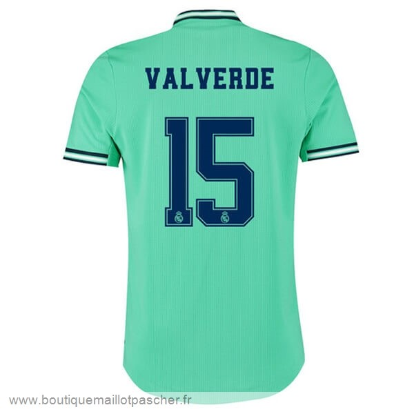Promo NO.15 ValVert Third Maillot Real Madrid 2019 2020 Vert