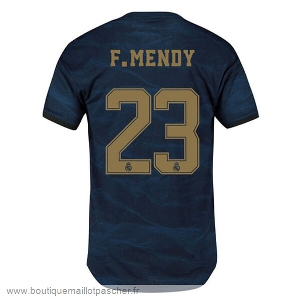 Promo NO.23 F.Mendy Exterieur Maillot Real Madrid 2019 2020 Bleu