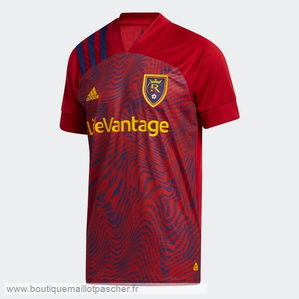 Promo Domicile Maillot Real Salt Lake 2020 2021 Rouge